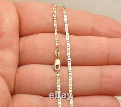 10 Mariner Gucci Link Chain Ankle Bracelet Anklet Real Solid 10K Yellow Gold