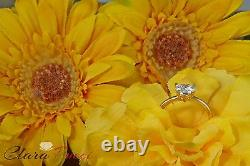 2.0 CT BRILLIANT HEART SHAPED CUT SOLITAIRE ENGAGEMENT RING REAL 14K Yellow GOLD